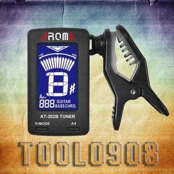NEW Aroma AT-302B Chromatic, Guitar , Bass Tuner Big LCD Screen-471#