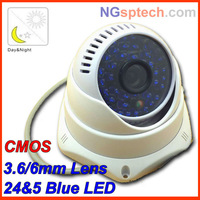 2013 The NEW Surveillance  Night Vision Color IR Indoor Dome CCTV mini Camera ,Home Security Camera