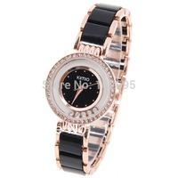 2013 EYKI / KIMIO Brand name Golden women Watch modern style bracelet watches women crystal women dress watches Free shipping