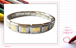 Freeshipping Joy wdss-04 stainless steel elastic bracelet girls - - christian gifts(China (Mainland))