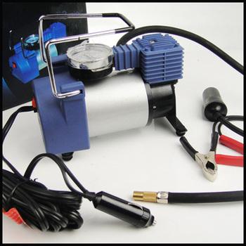 Portable Car/Auto 12V Electric Air Compressor/Tire Inflator Metal  pure copper core air pump super power