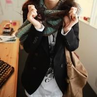 Autumn 2012 women's slim blazer medium-long black blazer coat