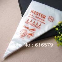 Wholesale 100pcs of Disposable Decorating Bag the cake Biaohua bag Cream piping bag Medium thickened the nontoxic