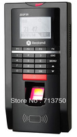 Biometric Fingerprint Access Control Time Attendance System Tcp Ip ID card Free shipping