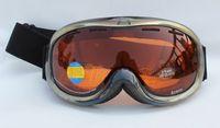 Free Shipping Double Lens Polarized Anti Fog Windproof Ski Goggles UV400 Protection Snowing Glasses Ventilation holes Men Women
