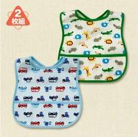 Free Shipping Cotton Baby Bib Infant Saliva Towels Baby Waterproof Bib Baby Wear 2 Styles For Choose