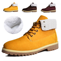 Aku thermal 2013 snow boots male high boots casual shoes tooling shoes cotton-padded shoes plus velvet thickening martin boots
