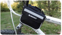 New 2013 Hot sale  Outdoor Cycling Bike Black Bicycle Frame Pannier Front Tube Saddle Bag Whole sale /Drop shopping[B2060]