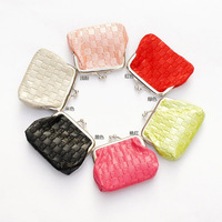 free shipping  candy color  ZERO  wallet  ,womens fashion coin purse  wholesale 24pcs / lot