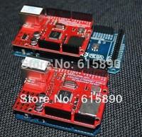 FREE SHIPPING Ethernet 5pcs W5100 R3 Shield enhanced version For Ard uino UNO Mega 2560 1280 328 UNR R3 < only Development board