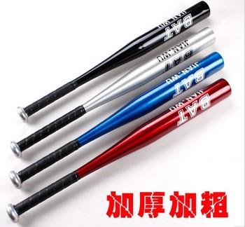 25 inches(63cm) Aluminum alloy baseball stick adult Mens Sports baseball bat Mixed color free shipping