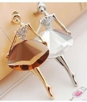 2014 hot Accessories elegant ballet girl fashion elegant brooch accessories 4004