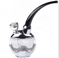 Cool~ Dual-use running water snuff- Cigarette holder filter smoking water filter hookah Circulation Cigarette pipe for healthy