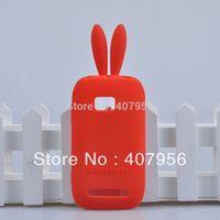 For  Nokia Lumia 710 N710 case Rabbit silicone Case cartoon case,1pcs/lot