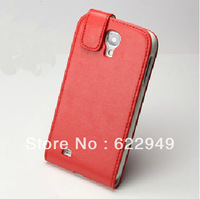 20pcs/lot Luxury Folio Leather Skin Pouch Case Cover For Samsung Galaxy S4 S 4 IIII i9500 +Free shipping