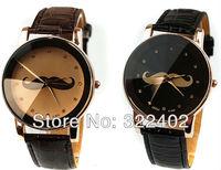 Hot selling leather watch Newest Design Quartz watch Free shipping Fedex/UPS 50 pcs/lot