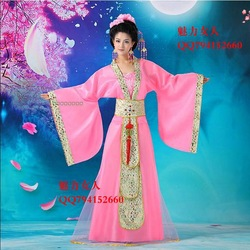 Ancient characteristics of Chinese traditional clothing women's fashion women's Han Chinese clothing dress E31(China (Mainland))