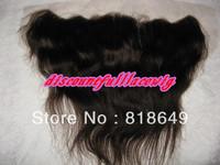 "AAAAA Virgin Brazilian Hair 10""-#2 body  wave Lace Frontal Wig (4""x13"") Frontal Pieces"