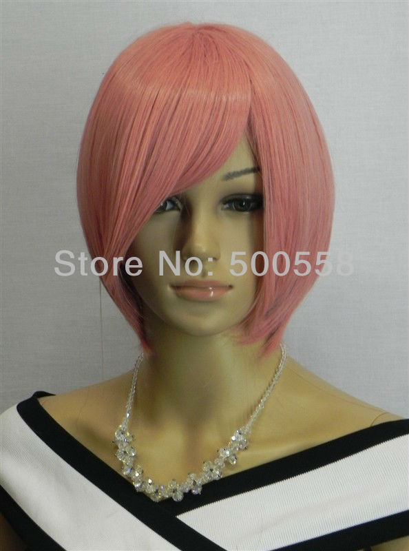 Designer hairstyle Halloween Stylish Heat Resistant Lady's Fashion Sexy Party Cosplay Synthetic Short Wig Wigs -D0317(China (Mainland))