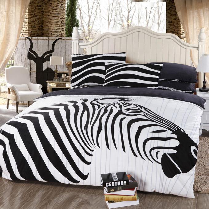 White Zebra Print Zebra Animal Print Black White