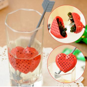 Min. order is $15 (mix order) Tea filters sword heart teaspoonful tea device 2036