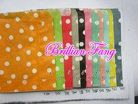 Free Shipping 3000pcs Party Favor Bags Kraft Paper Bags Mix Polka Dot,Stripe,Wave Favor Bags, Party Treats Bag