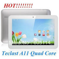 Teclast A11 Quad Core A31 Metal Tablet PC 10.1 Inch IPS Screen Android 4.1 2GB RAM 16GB HDMI 4K Video Silver