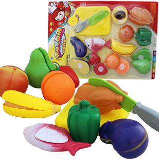 Toy fruit qieqie kitchen toy kindergarten toy