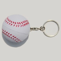 ball series 20pcs/lot mixed lot,mini pu softball key chain,popular mini key chain,wonderful promotion gift,unique