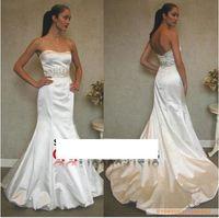 260 vestido de noiva 2014   fashionable romantic sexy sweetheart  mermaid wedding bridal dress bride bridal gown dresses