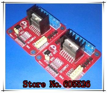 Free Shipping, 10PCS/LOT L298N Module L298 Dual Bridge DC Stepper Controller Control Motor Driver Module Board