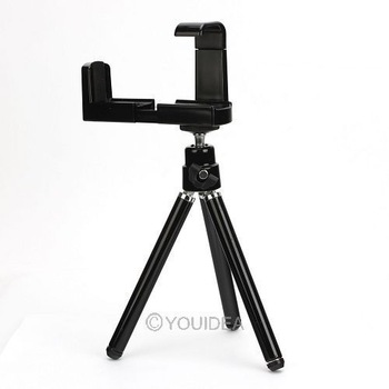 Brand New Black Universal Mini Tripod Stand Camera Video Holder for iPhone 4 4S 4G 3G 3GS 80631