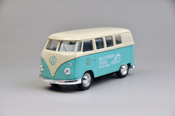 Toy volkswagen classic microbiotic webworm van light blue flowers(China (Mainland))