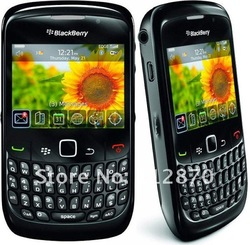 12 months warranty original BlackBerry Curve 8520 original unlocked cell phone(no BBM) free shipping(China (Mainland))