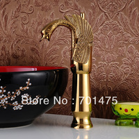 2013 New poetry swan basin faucet
