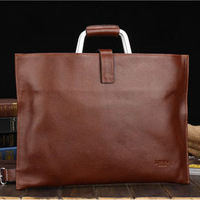 Special offer[100%GENUINE LEATHER] Men's fashion briefcase mobile business bag FREE SHIPPING