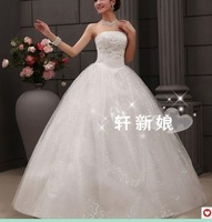 287 Free shipping newest women fashion sexy heavy beadings sweetheart ball gown wedding dresses