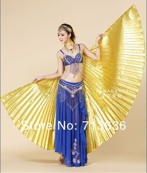 Egypt Costume Isis Belly Dance Wings Dance Wear Wing free shipping gift(China (Mainland))