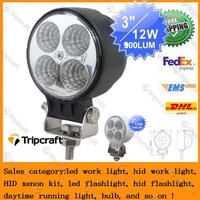 Promotion DHL,FEDEX EMS 20 X 12W 840 LM LED work light tractor fog lamp truck heavy duty Auto driving light ++18months warranty