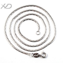 XD Y945 925 sterling silver scale link chain necklace fashion jewelry men male chain necklace(China (Mainland))