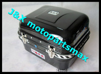 Black colors ------------> Motorcycle tail box kit/trunk/motorcycle electric locker/upset all steel large-sized four color