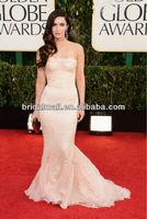 Elegant Chiffon Appliqued same as Megan Fox at Golden Globes Awards XF104