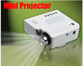 "Drop shipping Remote Portable Mini HD LED Projector 80"" Cinema Theater, PC Laptop VGA input mini projetor"