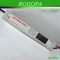 18W Waterproof LED Power Supply transformer 2 years warranty