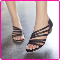 New hot wedding flower platform flat sandals for women and women's summer shoes women's summer shoes