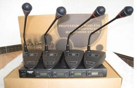 New MIC Audio 4x100 Ch UHF Wireless Gooseneck microphone Mic System UGX88d UHF 610-950MHz