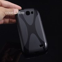 Free Shipping Wholesale 10pcs/Lot Soft X-Line Wave TPU Silicone Gel Cover Case for Samsung Galaxy Express i8730