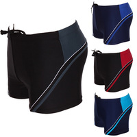 Free shipping! Swimwear male swimming trunks plus size plus size swimwear spa men's boxer swimming trunks