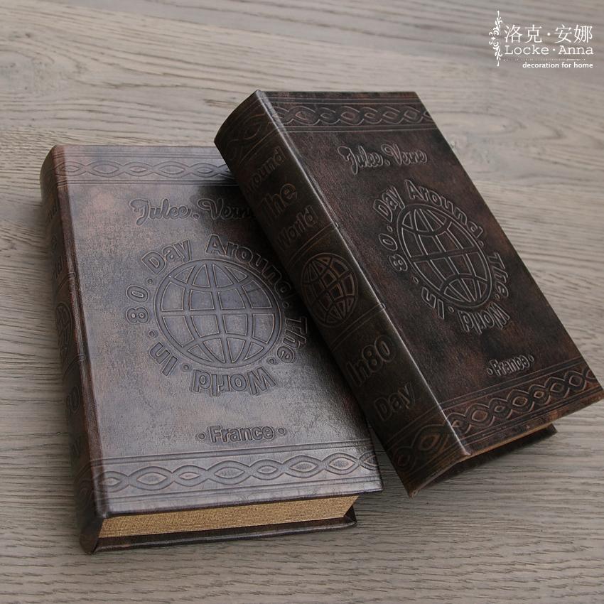 faux books for decoration