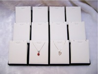 EMS free shipping, 10pcs/ Lot Quality Fashion Necklace Pendant Holder Showcase Wooden Jewelry Display